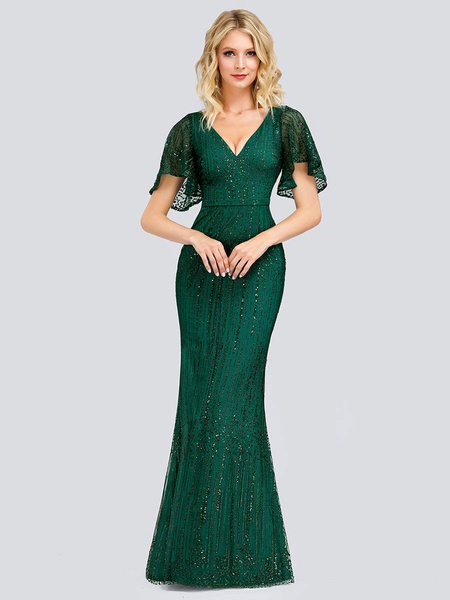 Milanoo Party Dress For Mother Of The Bride 2020 V Neck Sleeveless Sheath Lace Wedding Guest Dresses