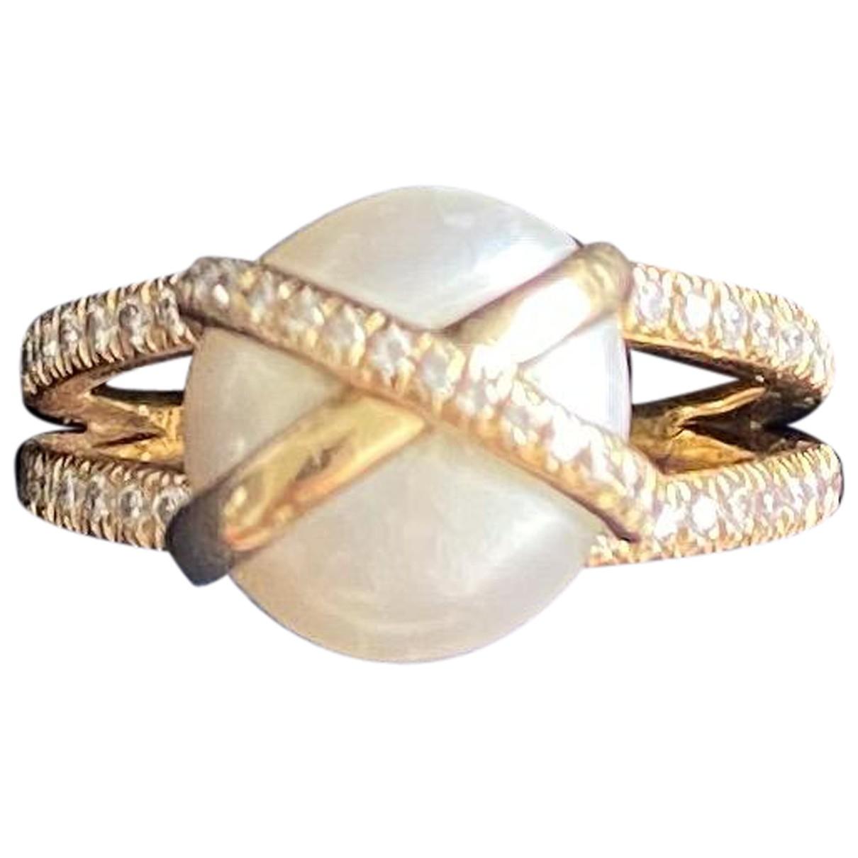 Fred N Gold Yellow gold ring for Women 54 EU