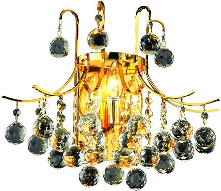 V8000W16G/SS 8000 Toureg Collection Wall Sconce D:16In H:14In E:9.5In Lt:3 Gold Finish (Swarovski   Elements