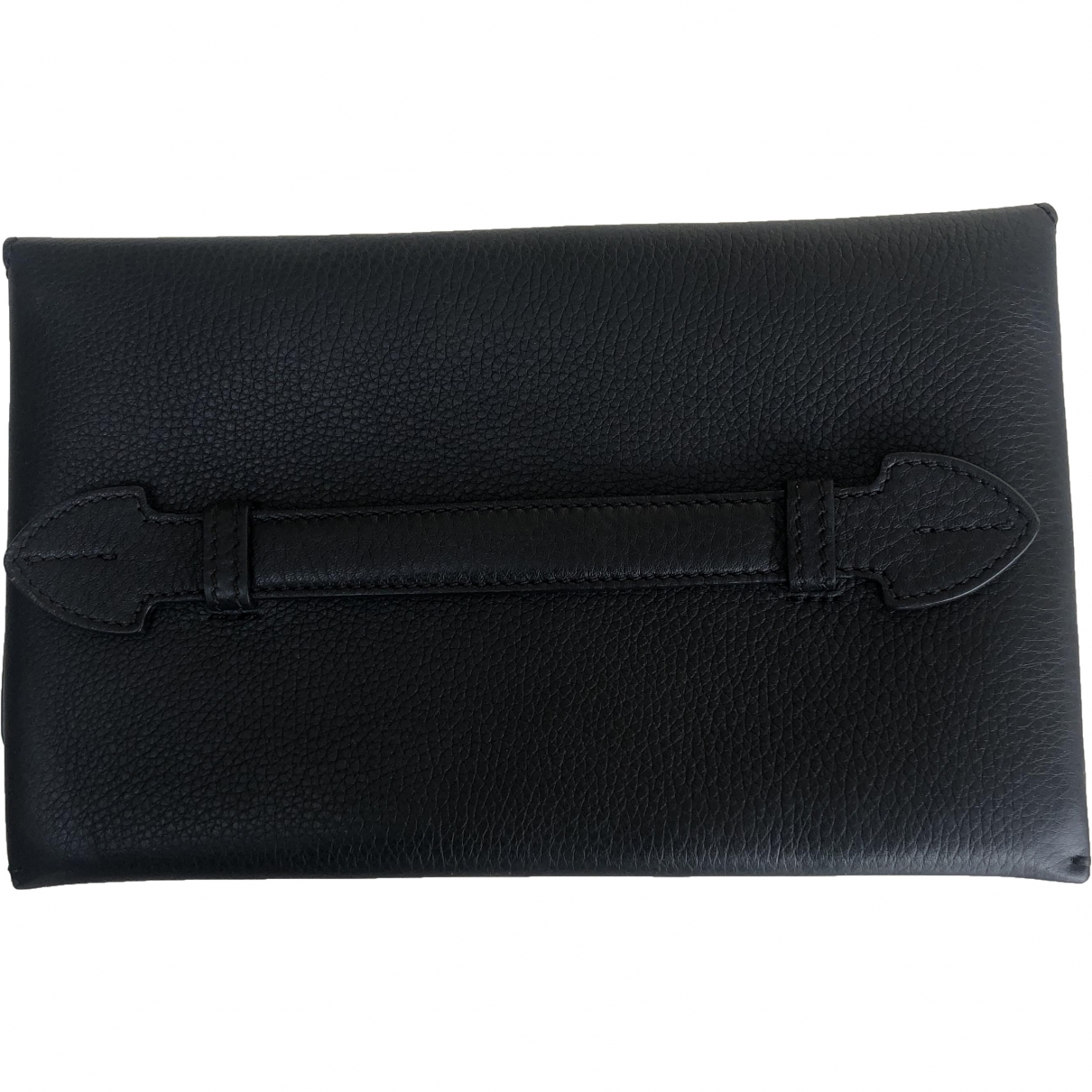 Burberry \N Black Leather Clutch bag for Women \N