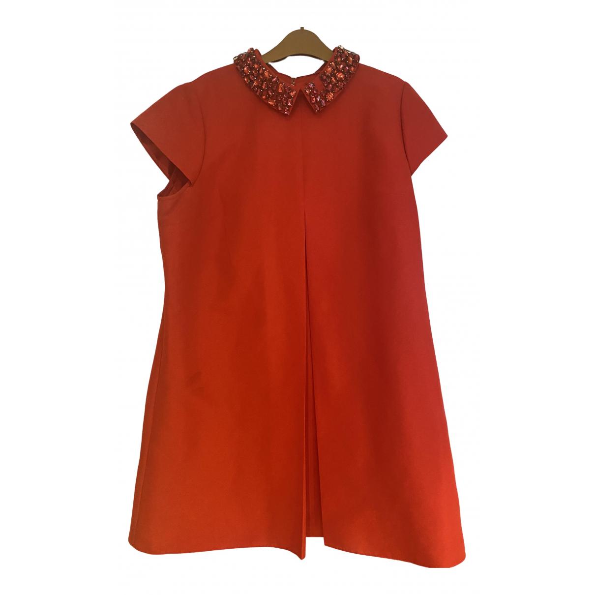 Ted Baker \N Kleid in  Rot Seide