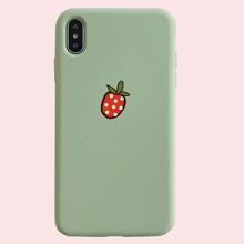 1pc Strawberry iPhone Case