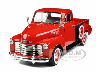 1953 Chevrolet 3100 Pickup Truck Red 1/32 Diecast Model Car by Signature Models