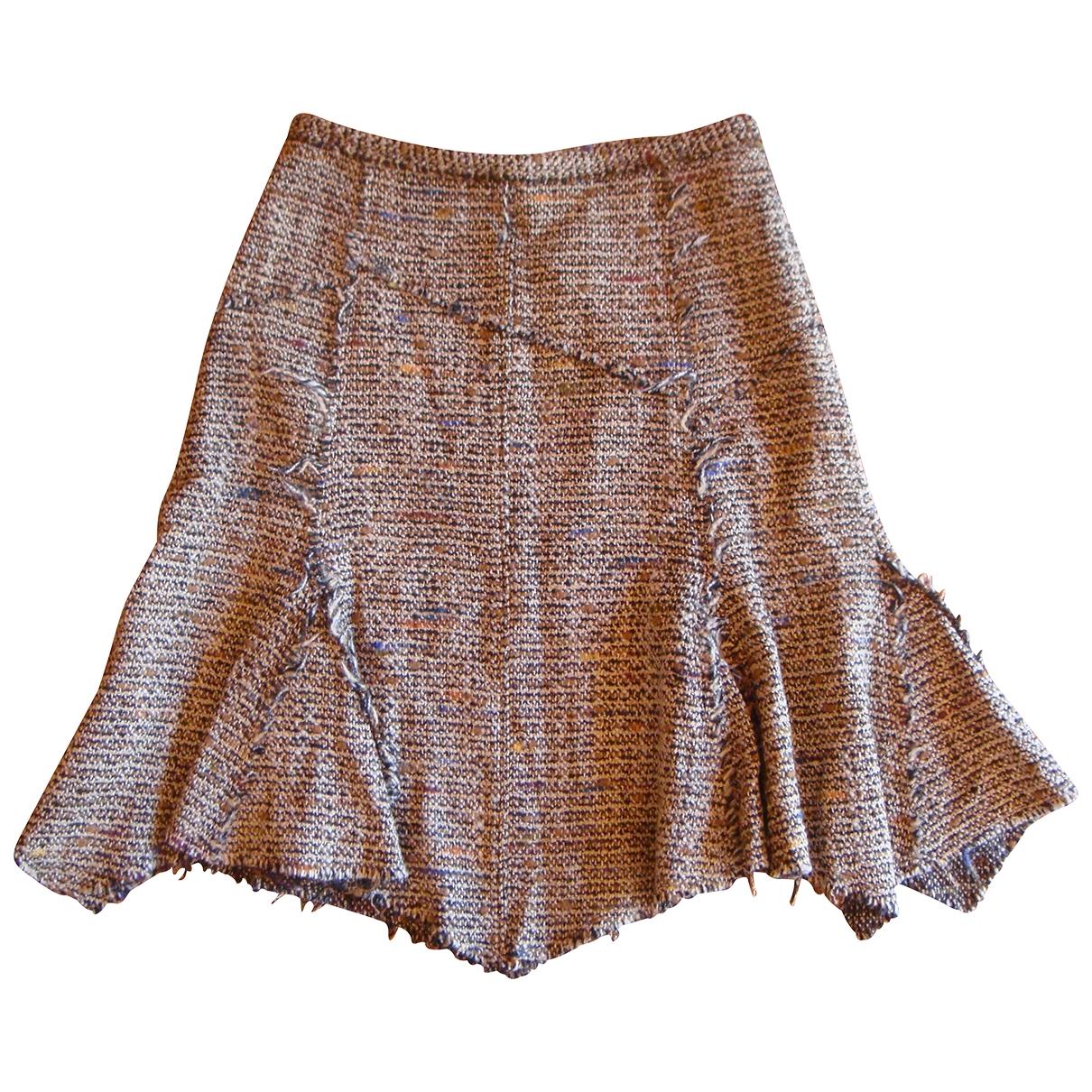 Essentiel Antwerp - Jupe   pour femme en laine - beige