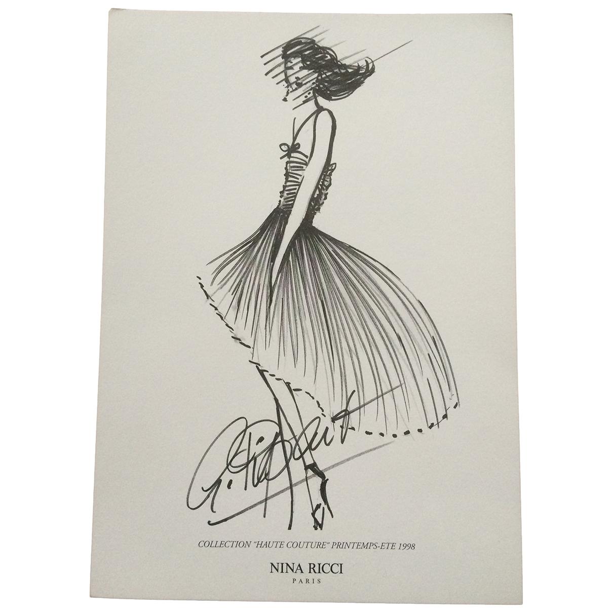 Nina Ricci \N Black Fashion for Life & Living \N