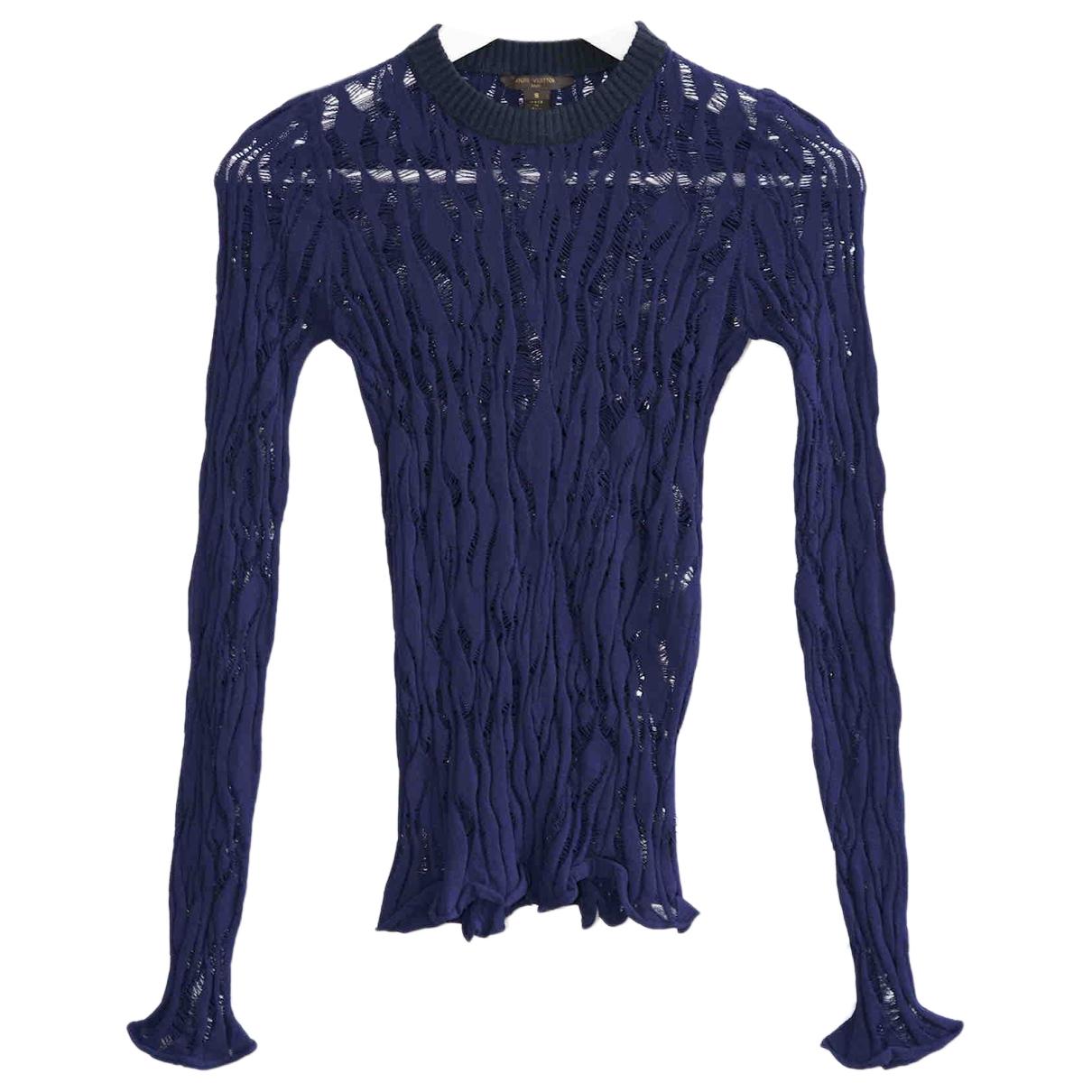 Louis Vuitton - Pull   pour femme - marine