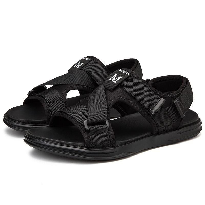 Ericdress Letter Velcro Men's Sandals