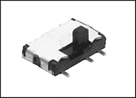 Alps Alpine Surface Mount Slide Switch Double Pole Double Throw (DPDT) Latching 300 mA Slide (5)
