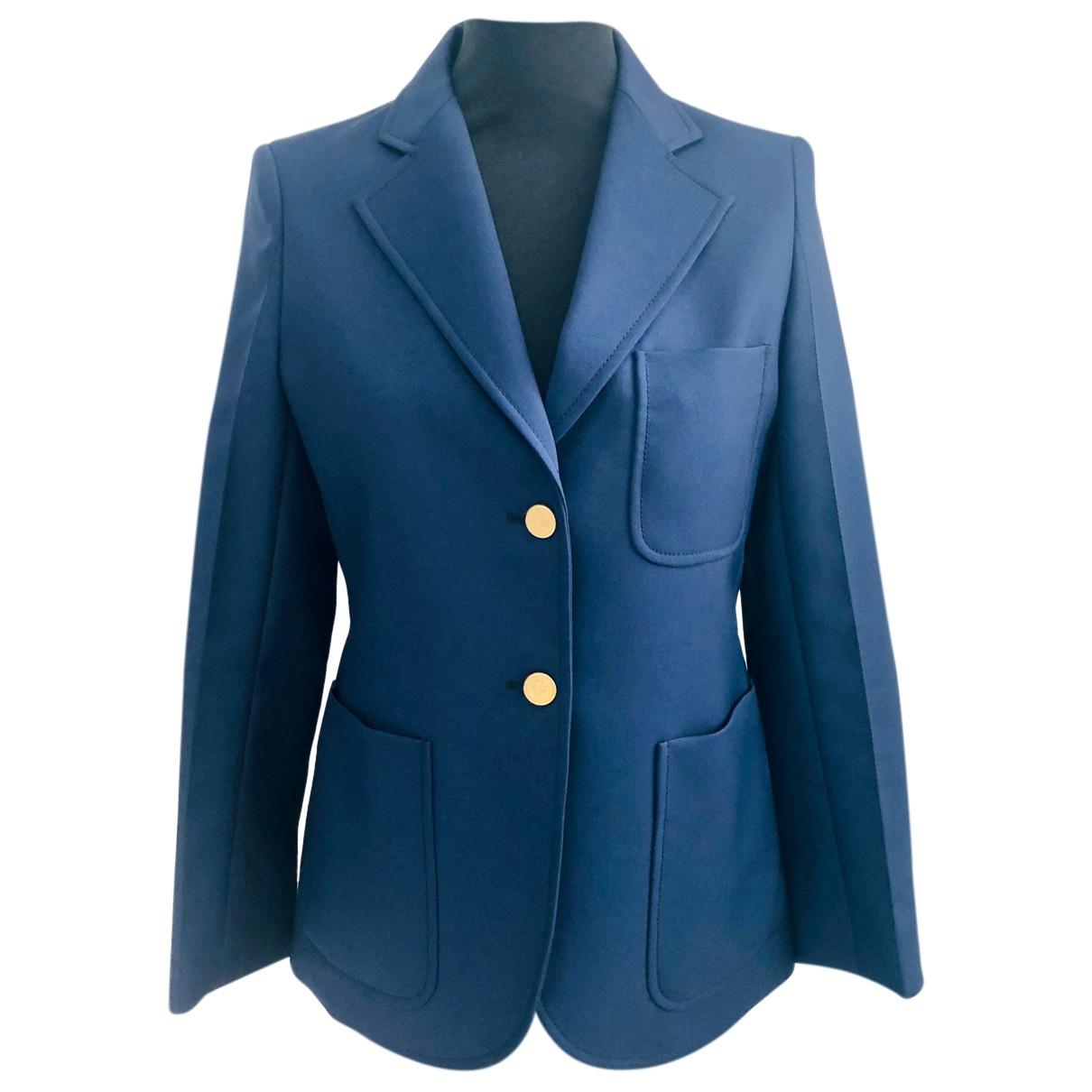 Chaqueta en Poliester Azul Louis Vuitton