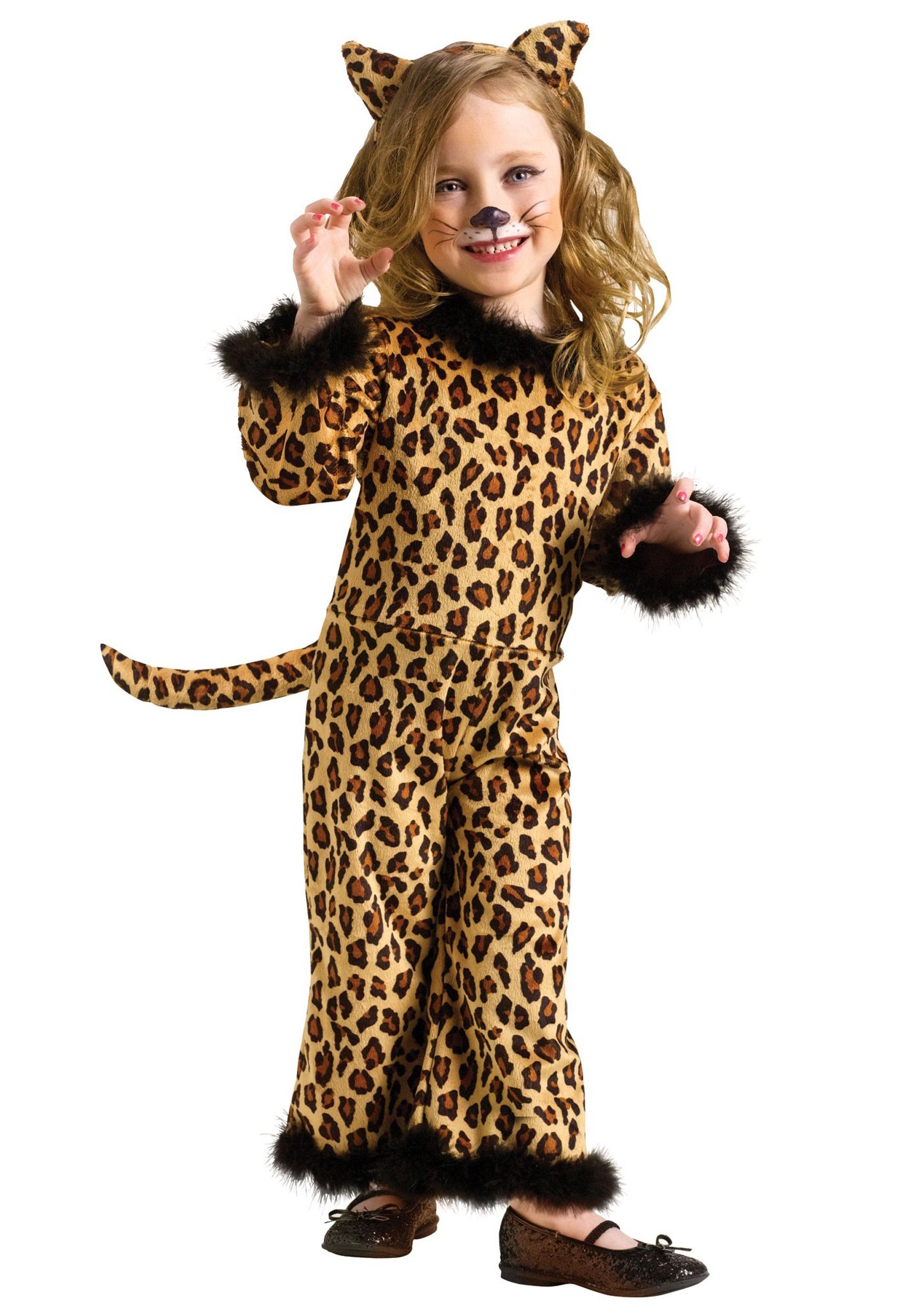 Toddler Pretty Leopard Costume
