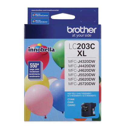 Brother MFC-J5620DW Original Ink Cartridges BK/C/M/Y Combo, 4 pack - High Yield