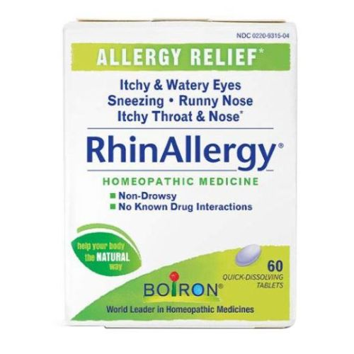 RhinAllergy Tablets 60 Tabs by Boiron