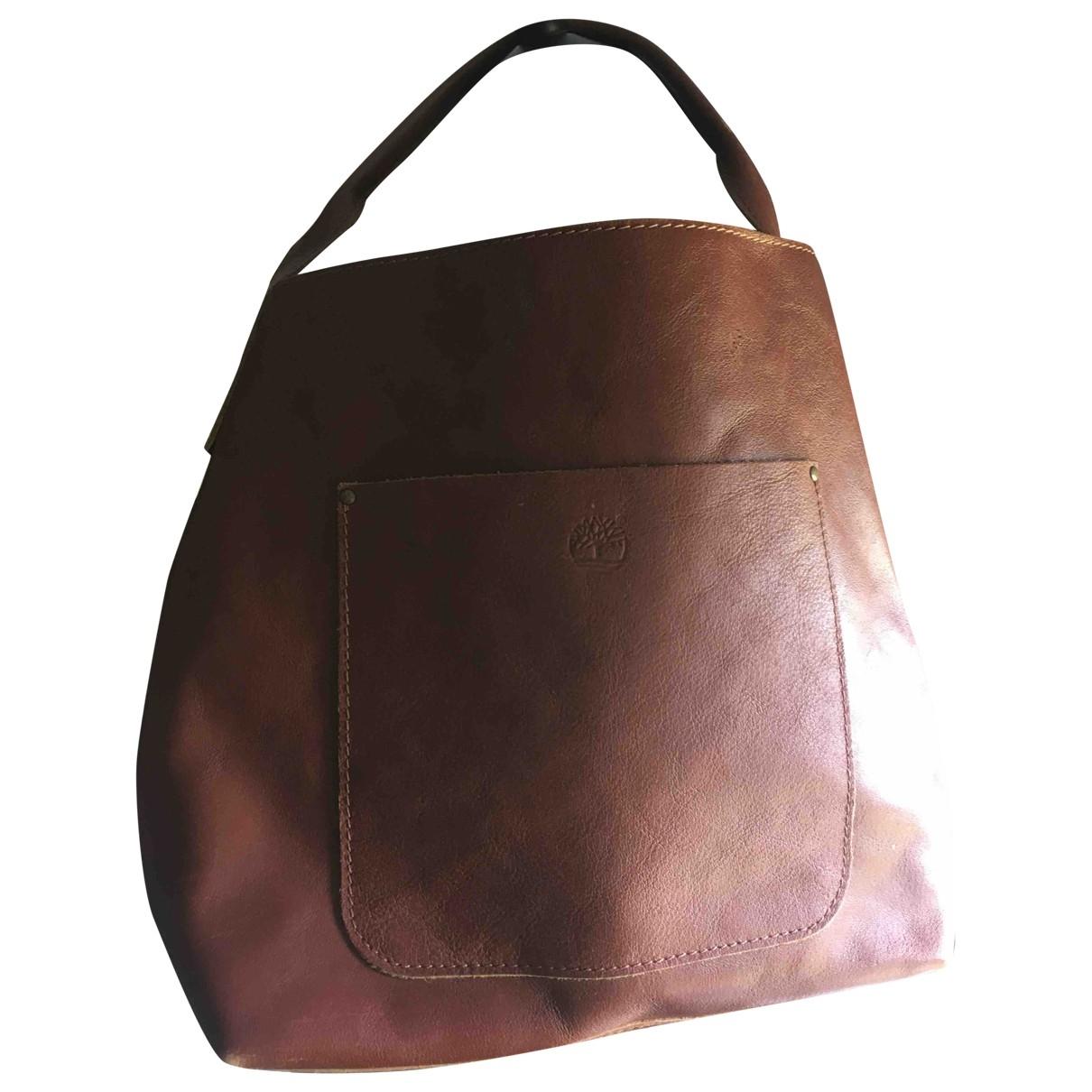 Timberland \N Brown Leather handbag for Women \N