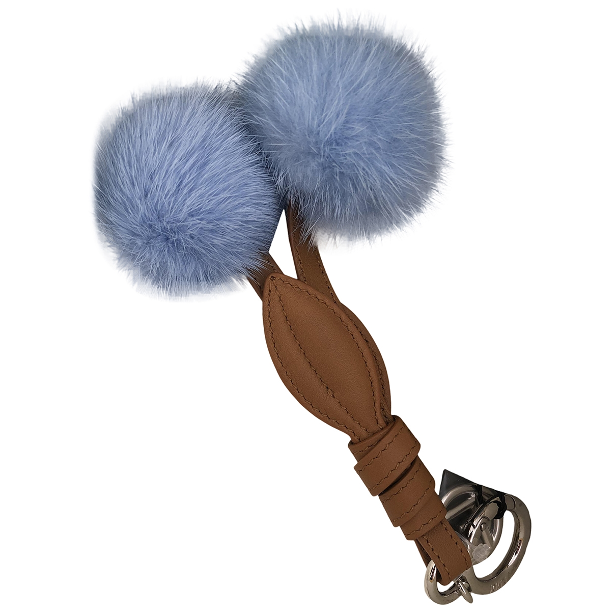 Fendi \N Blue Mink Bag charms for Women \N