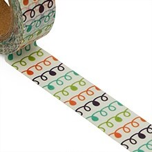 Curly Ques Washi Tape Colored - 9/16 X 10 Yards - Shipping Supplies by Paper Mart