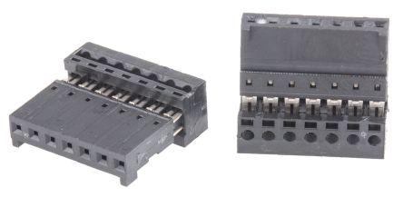 Stelvio Kontek 7-Way IDC Connector Socket for Cable Mount, 1-Row (5)