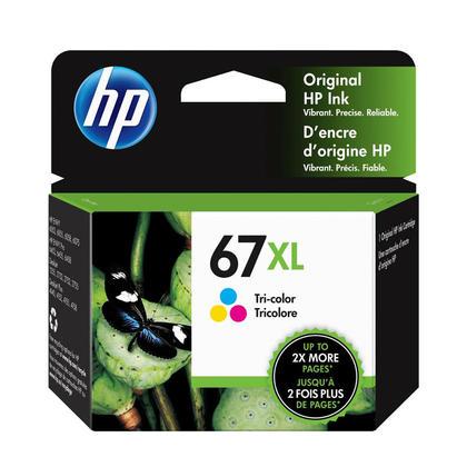 HP 67XL 3YM58AN cartouche d'encre originale tri-couleur haute capacité