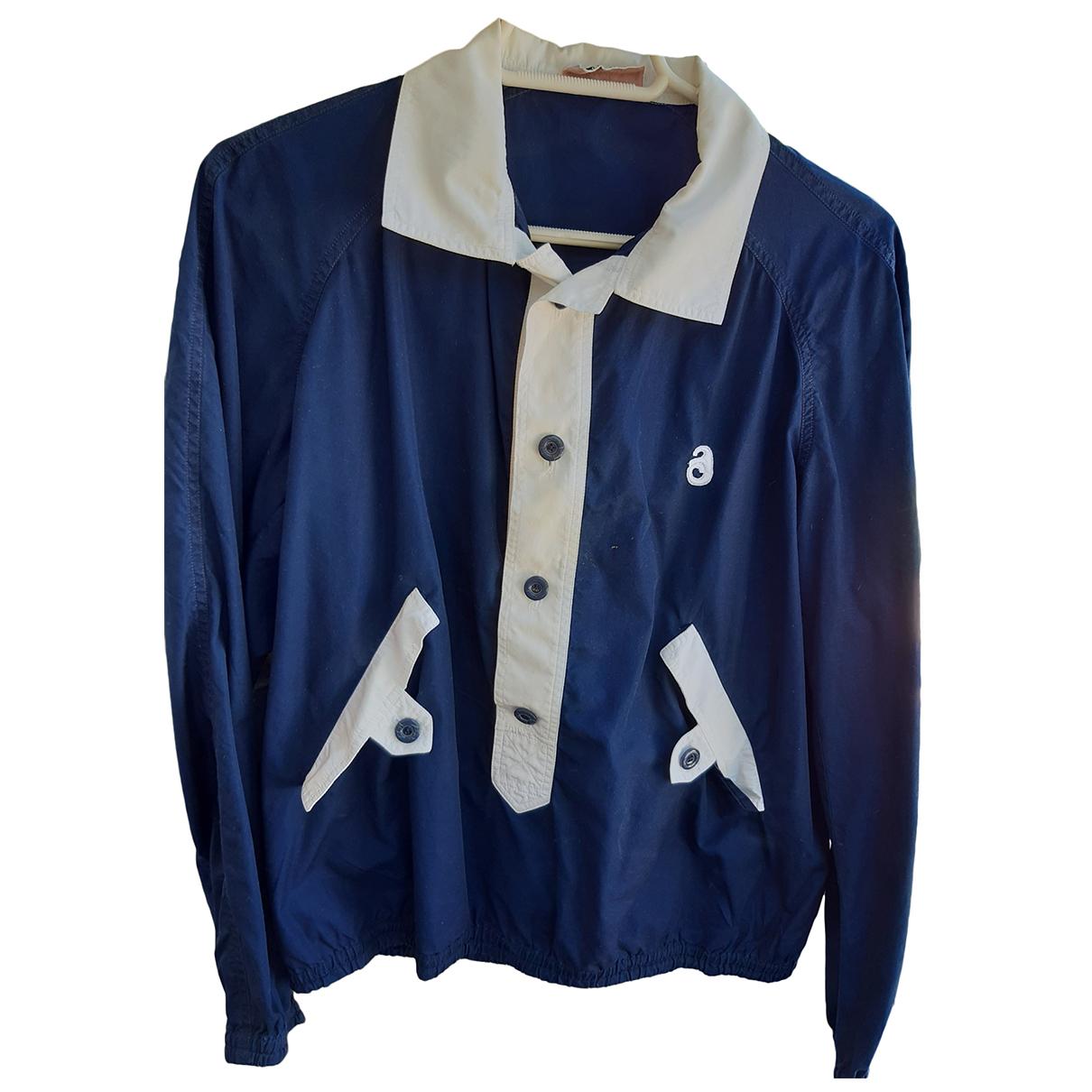 Courrèges \N Blue Cotton Shirts for Men M International