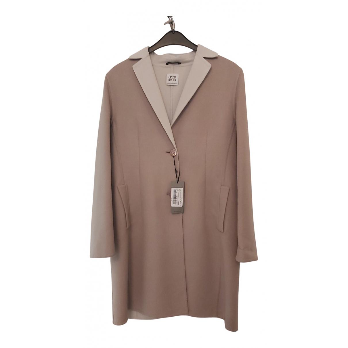 Cinzia Rocca N Beige Wool coat for Women M International
