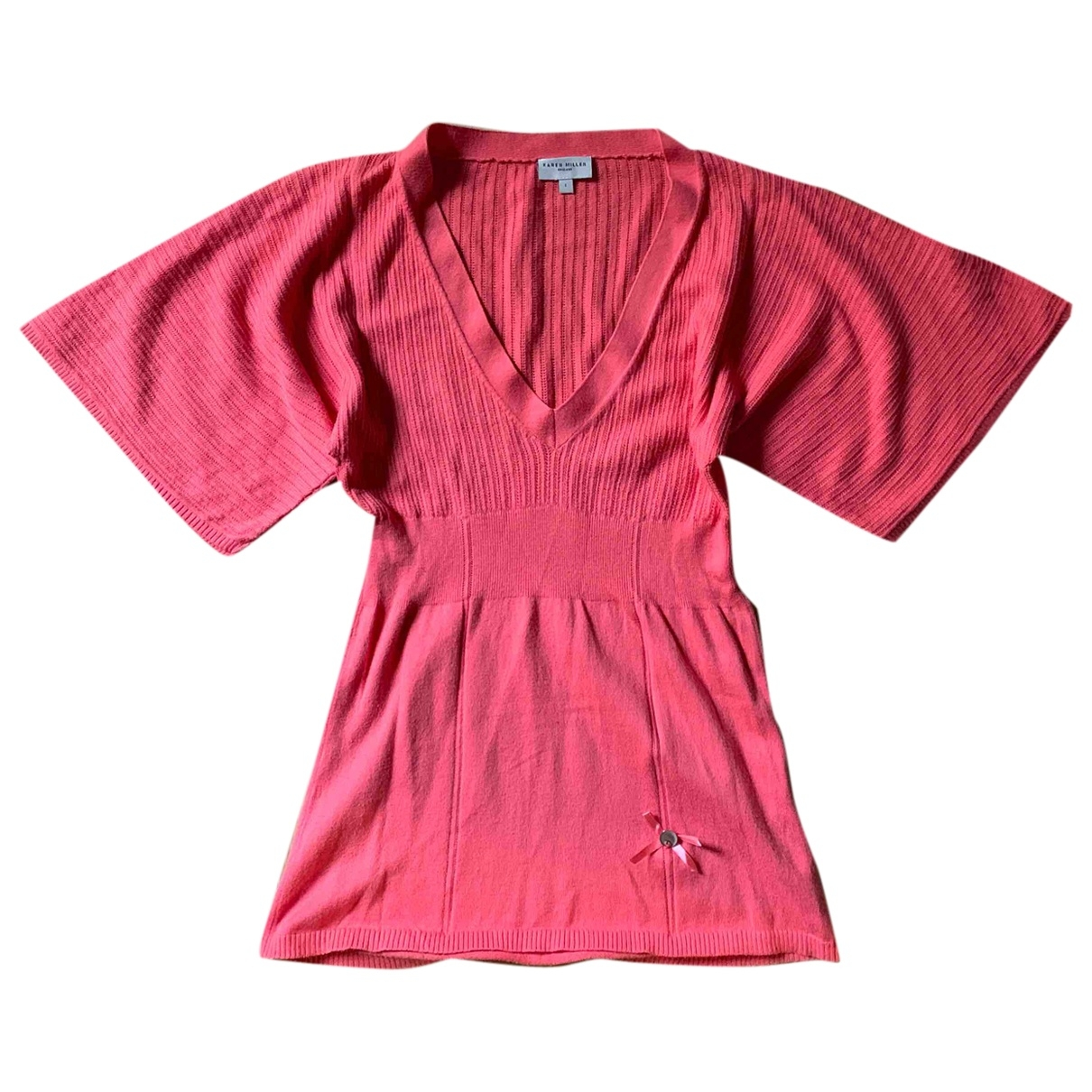 Karen Millen \N Orange Cotton Knitwear for Women 8 UK
