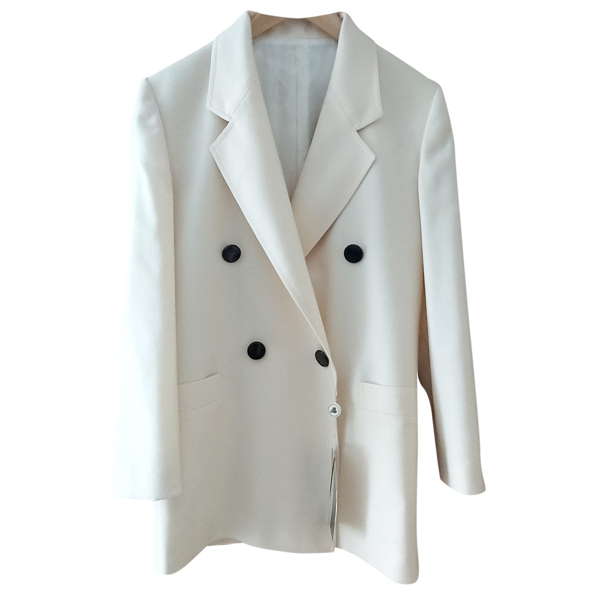 Non Signé / Unsigned \N Beige Wool jacket for Women L International