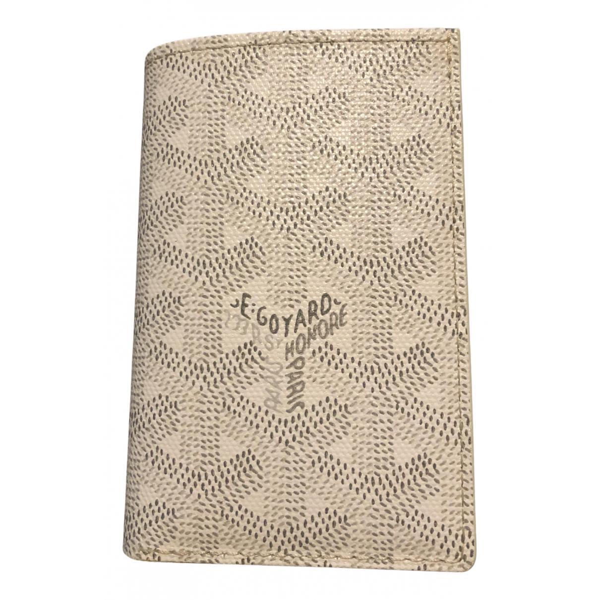 Goyard - Petite maroquinerie   pour femme en toile - blanc