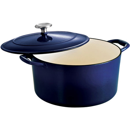 Tramontina Gourmet 6½-qt. Enameled Cast Iron Covered Round Dutch Oven, One Size , Blue