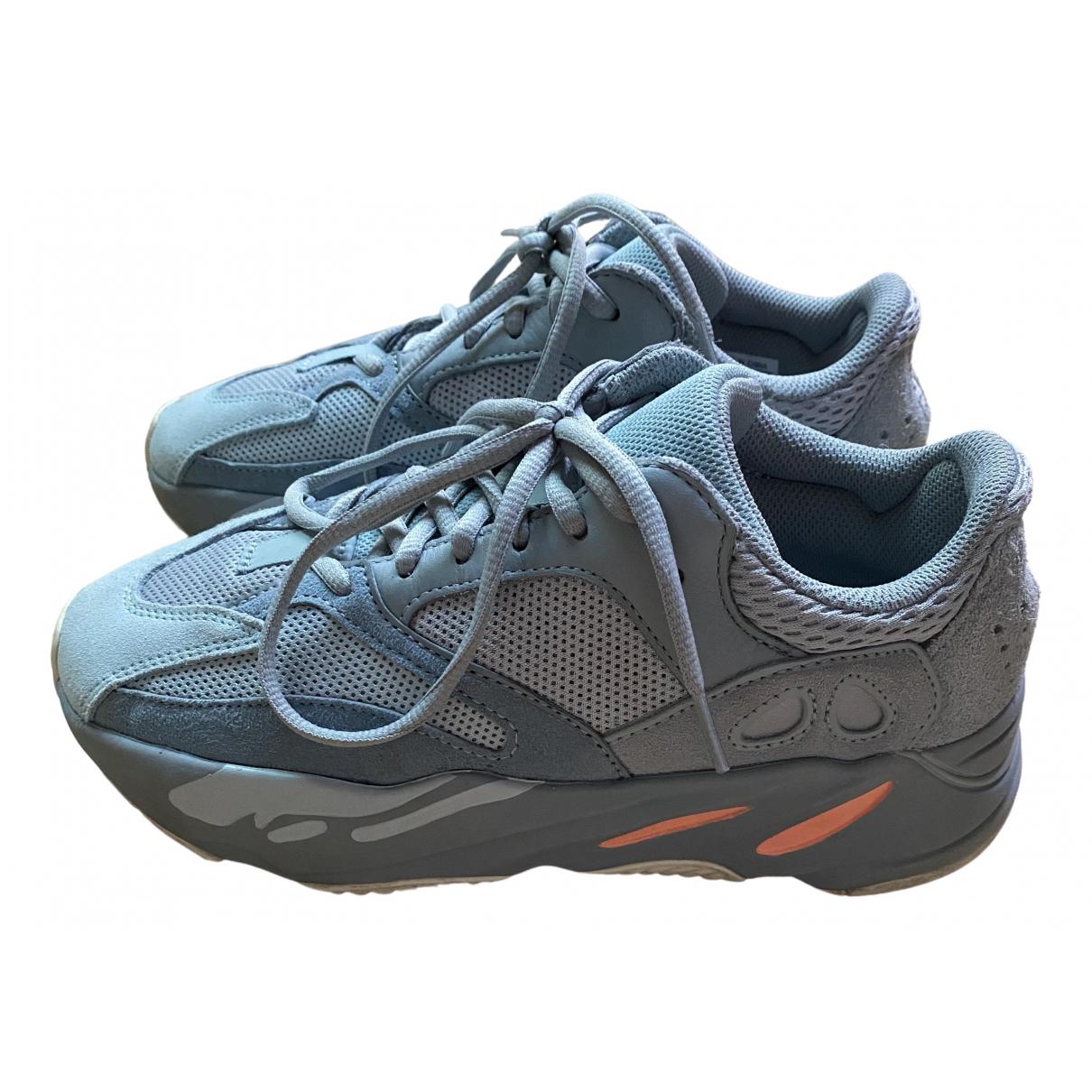 Yeezy X Adidas - Baskets Boost 700 V2 pour femme en toile - gris