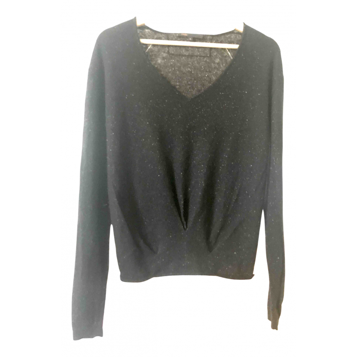 Maje \N Black Wool Knitwear for Women 36 FR