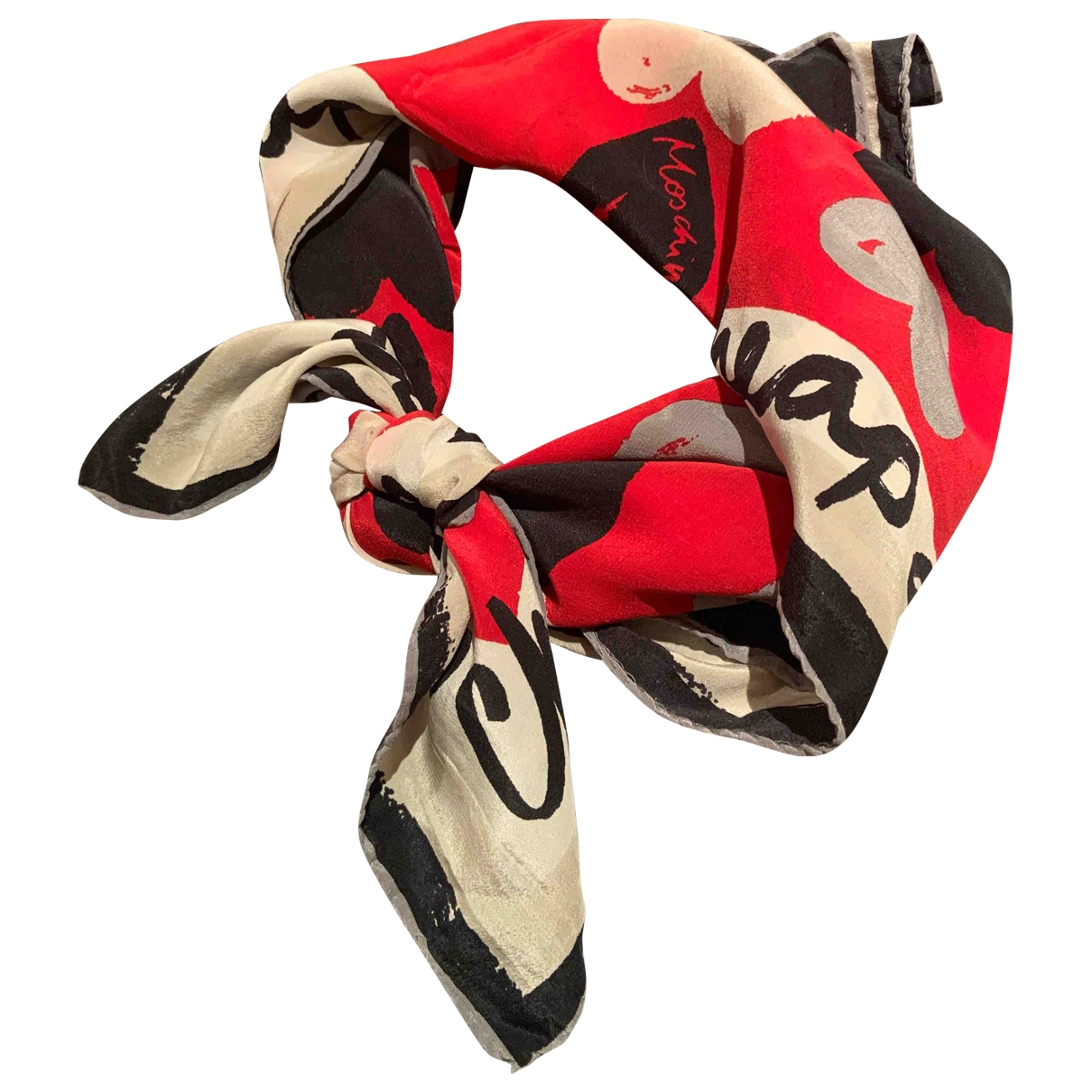 Moschino Cheap And Chic \N Multicolour Silk scarf for Women \N