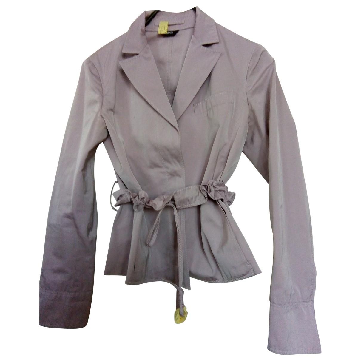 Boss \N Purple jacket for Women 38 FR
