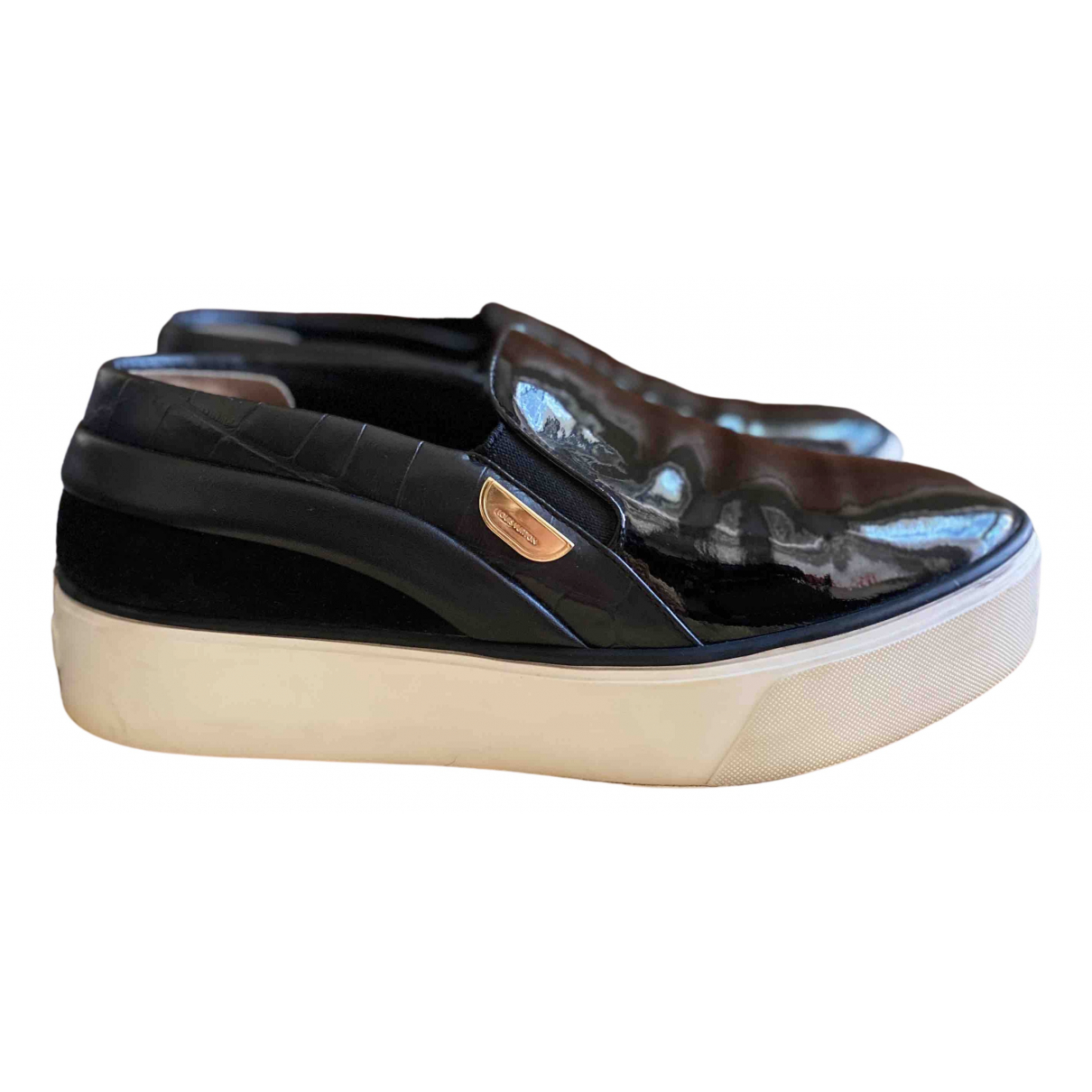 Louis Vuitton N Black Patent leather Trainers for Women 39 EU
