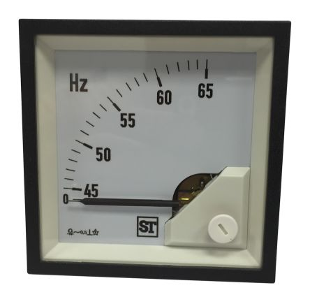 Sifam Tinsley Frequency Meter, 92mm x 92mm