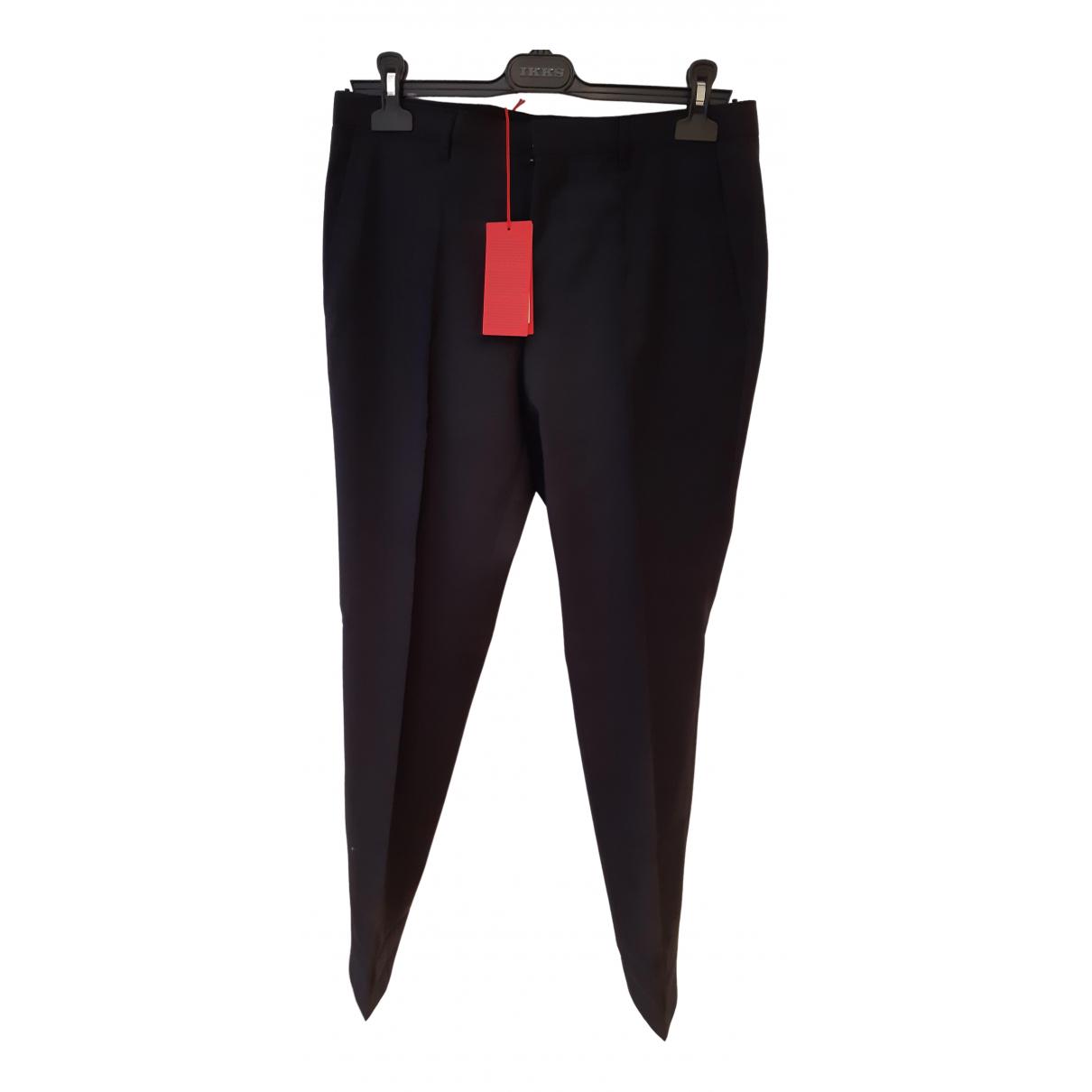 Hugo Boss - Pantalon   pour homme en laine - gris