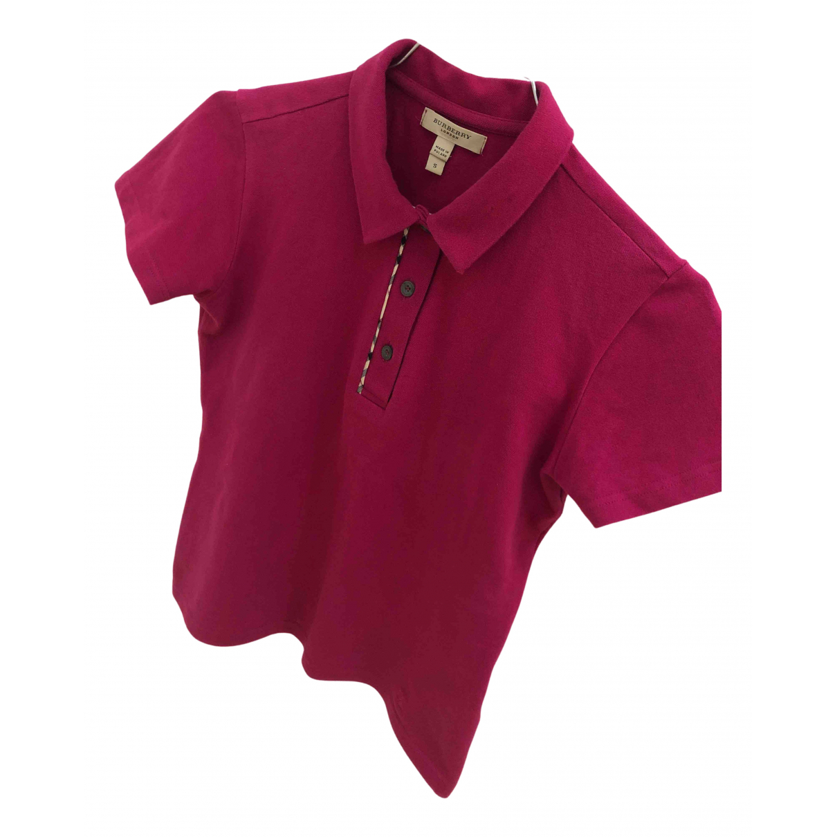Burberry N Pink Cotton  top for Women 36 FR