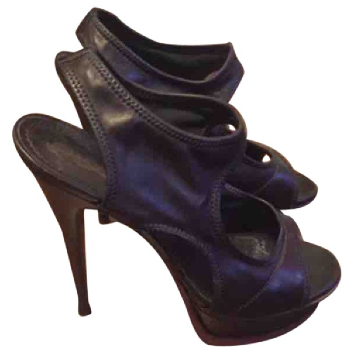 Yves Saint Laurent \N Brown Leather Heels for Women 39 EU
