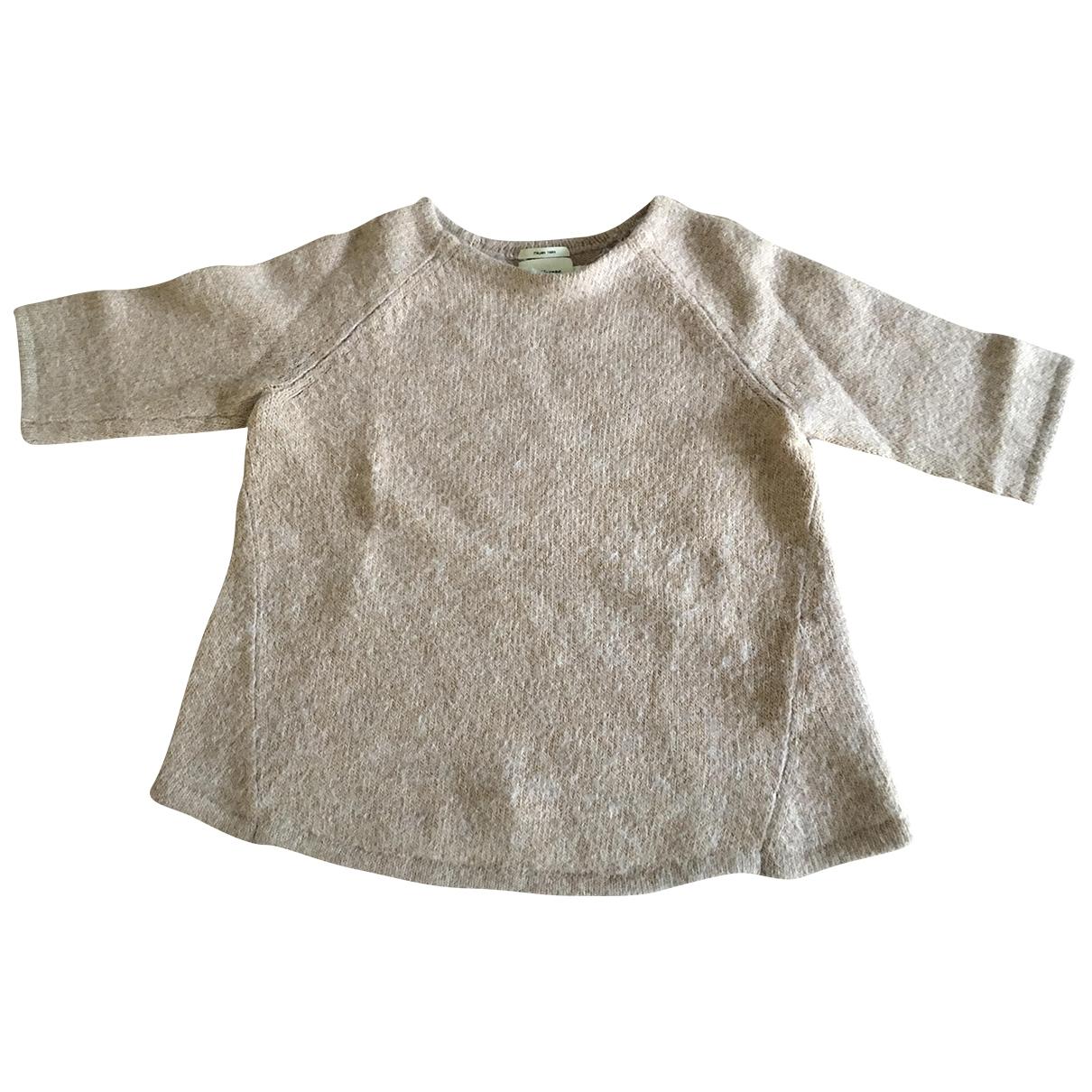 Bellerose \N Pullover in  Kamel Wolle