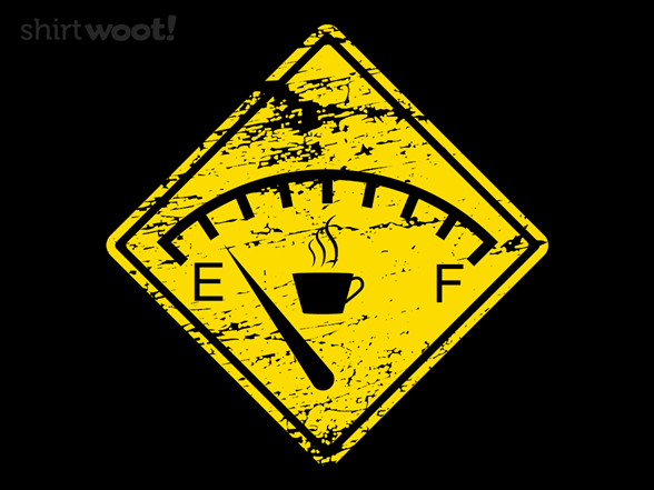 Out Of Coffee T Shirt