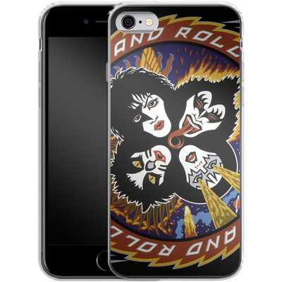 Apple iPhone 6 Silikon Handyhuelle - Rock And Roll Over von KISS®