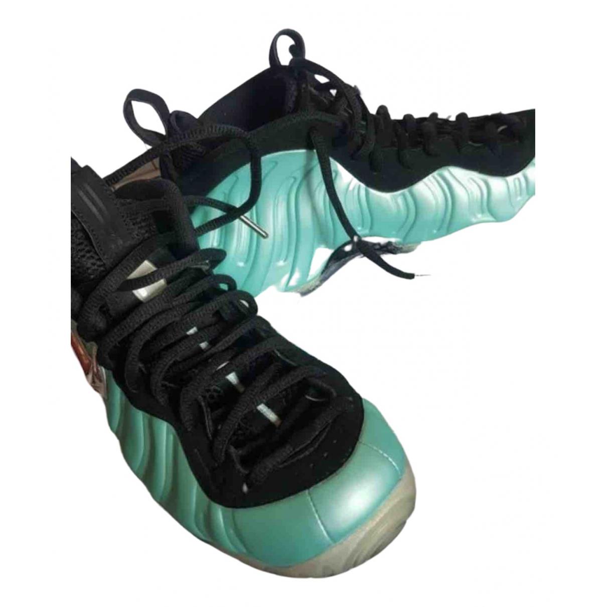 Nike - Baskets Air Foamposite pour homme en caoutchouc - bleu