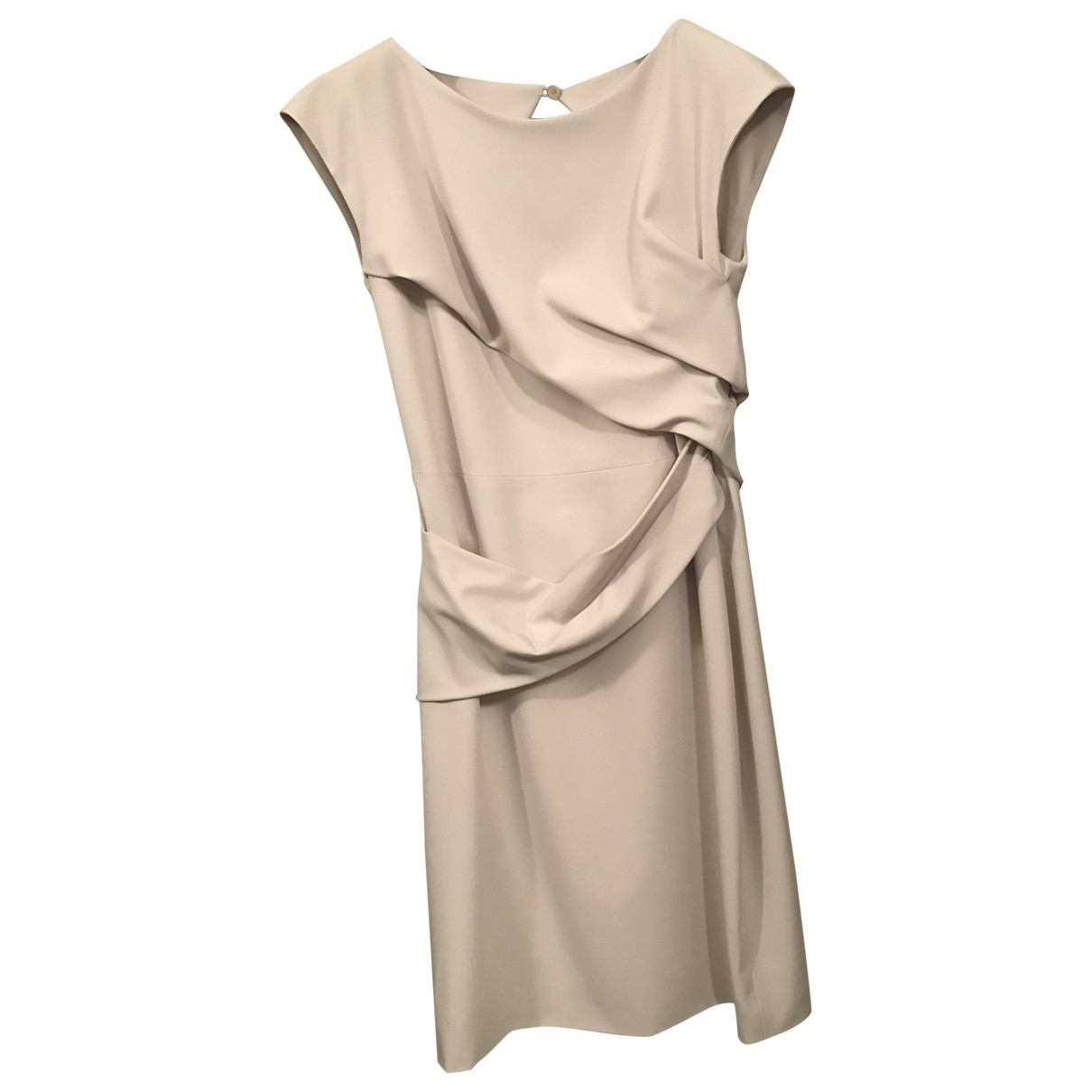 Gucci \N Kleid in  Grau Polyester