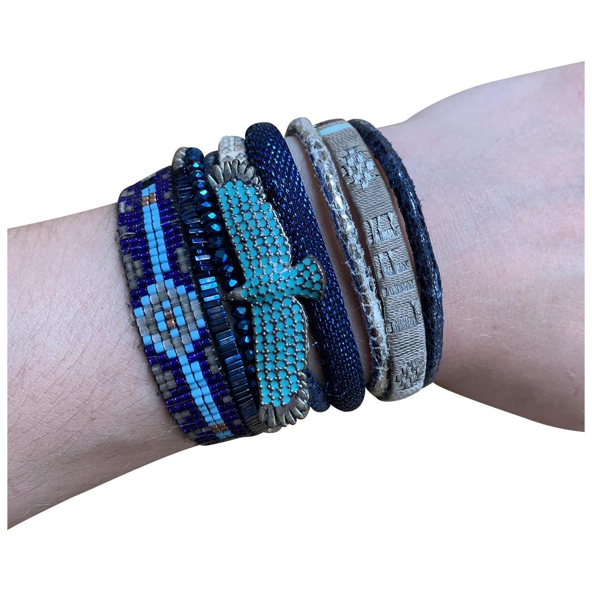 Hipanema \N Armband in  Blau Silber