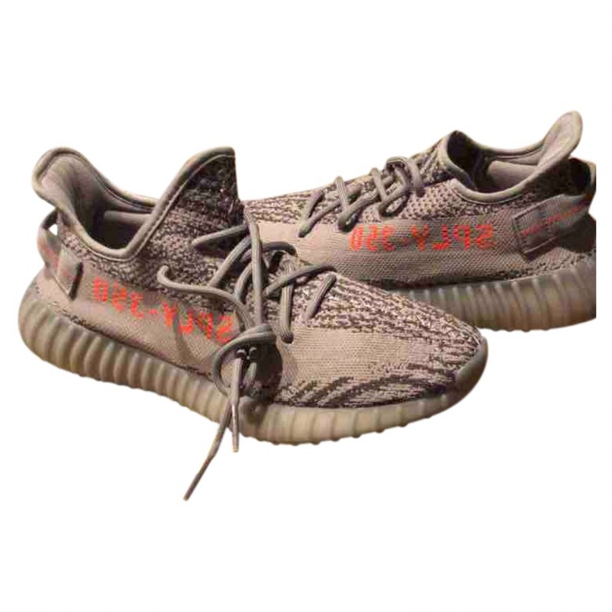 Yeezy X Adidas Boost 350 V2 Grey Cloth Trainers for Men 9 US