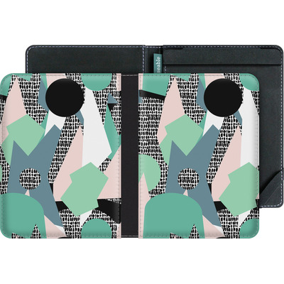 tolino vision 4 HD eBook Reader Huelle - Mountains von Jenna Kunnas