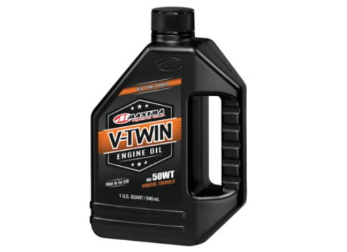 Maxima 30-07901 V-Twin Mineral Engine Oil for Pre-Evolution Engines 50W 1 Qt