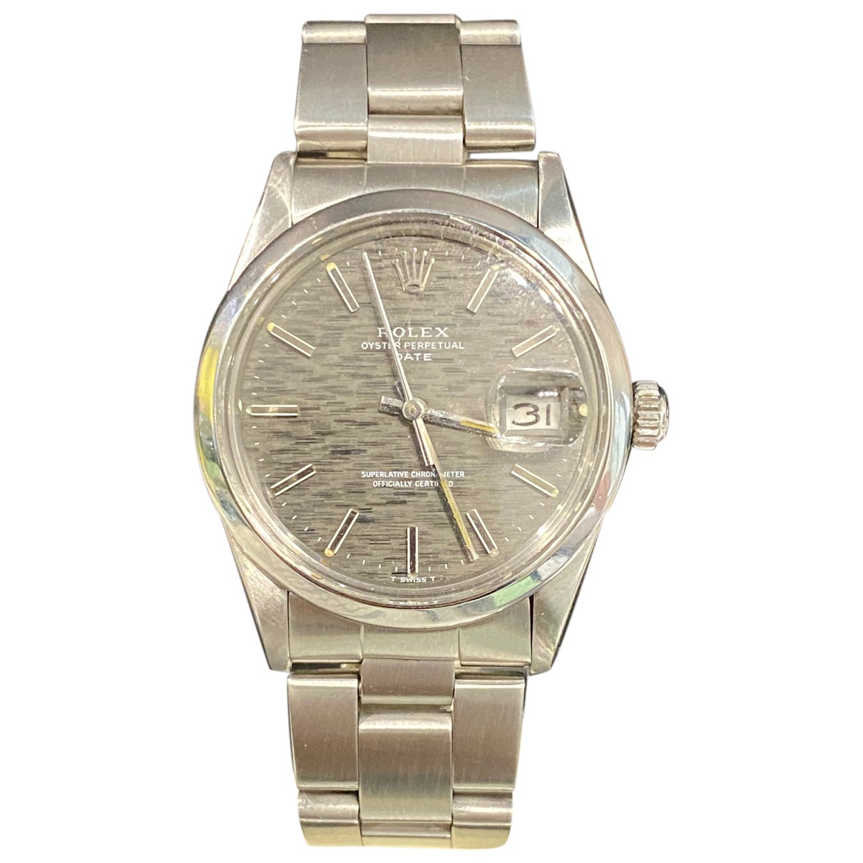 Rolex Oyster Perpetual 34mm Uhr in Stahl