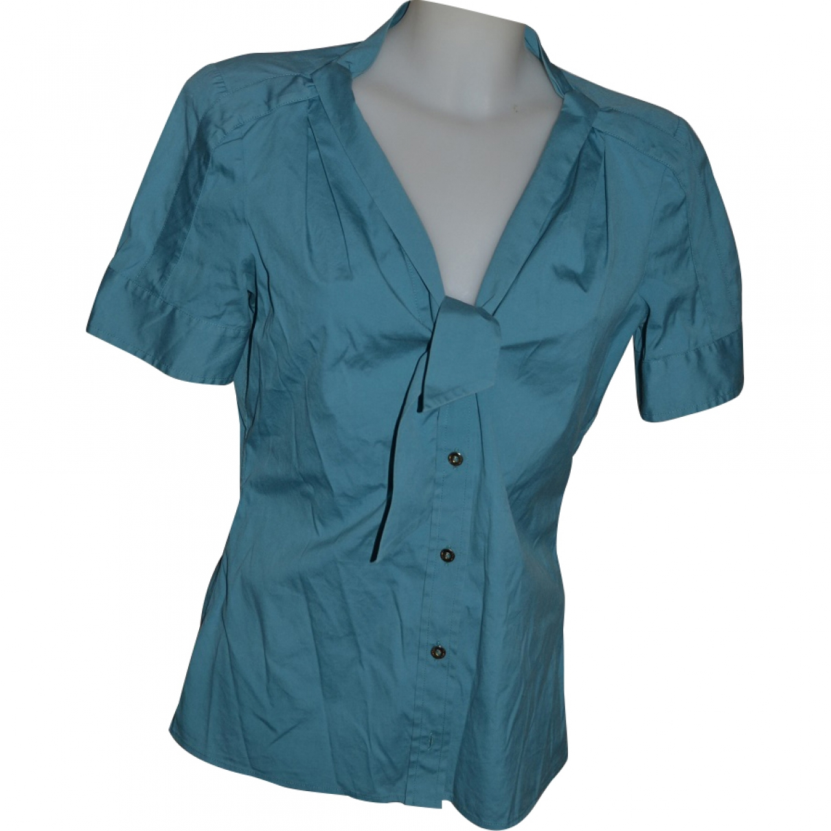 Gucci \N Turquoise Cotton  top for Women 44 IT