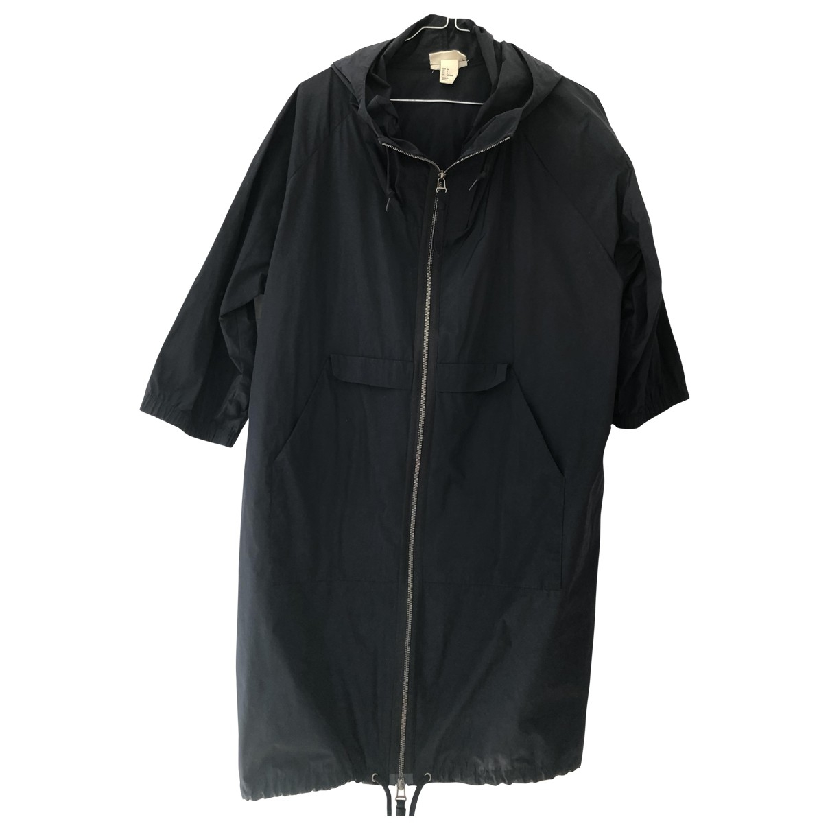 Marni For H&m \N Trench in  Blau Polyester