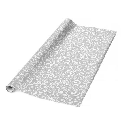 Gift Wrap Roll Foil Floral Printed 27.5