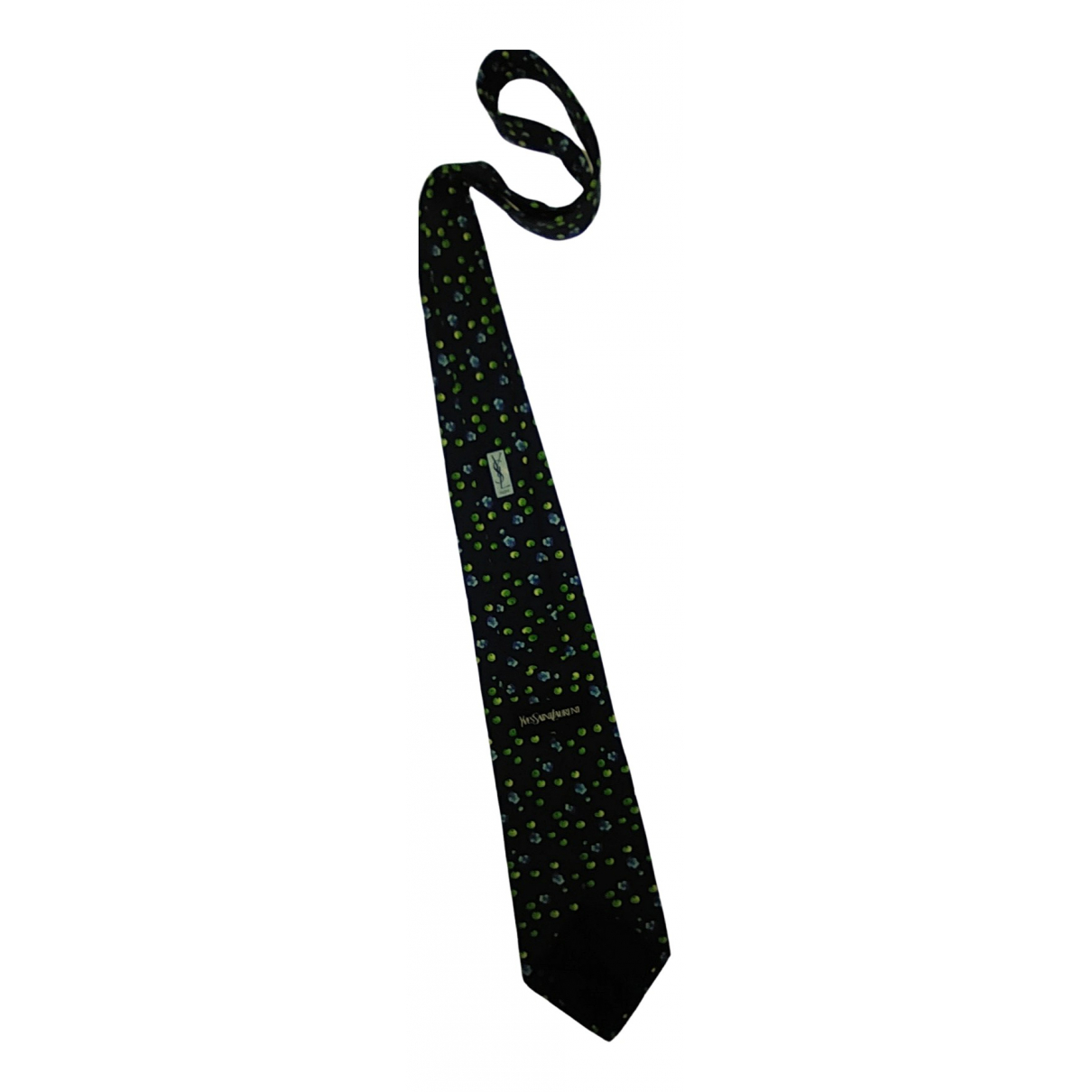Yves Saint Laurent \N Krawatten in  Blau Seide